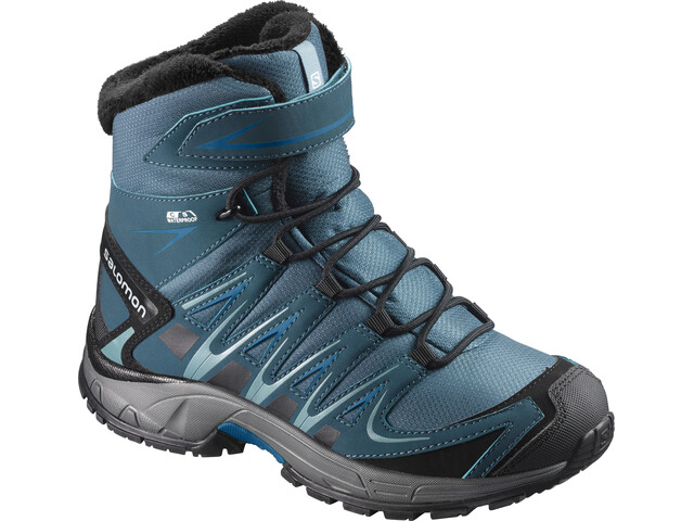 Salomon Junior Xa Pro 3D Winter TS CSWP Shoes Mallard Blue/Reflecting Pond/Mykono